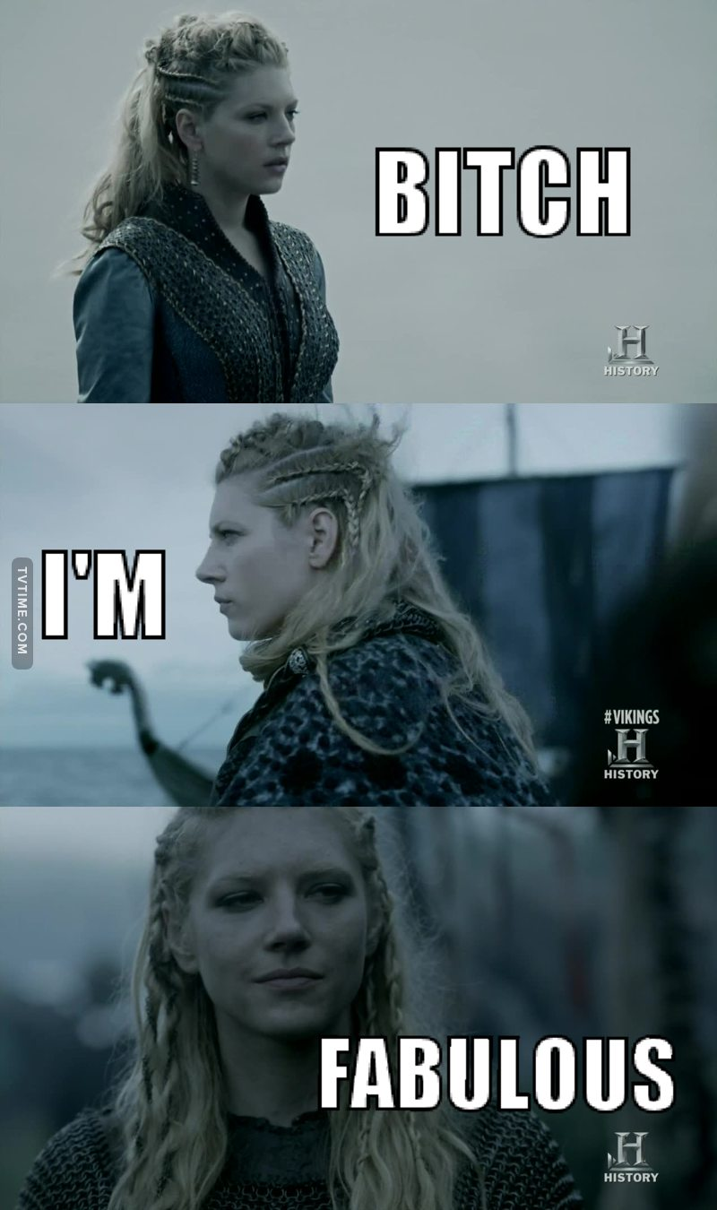 I love Lagertha so much ❤
