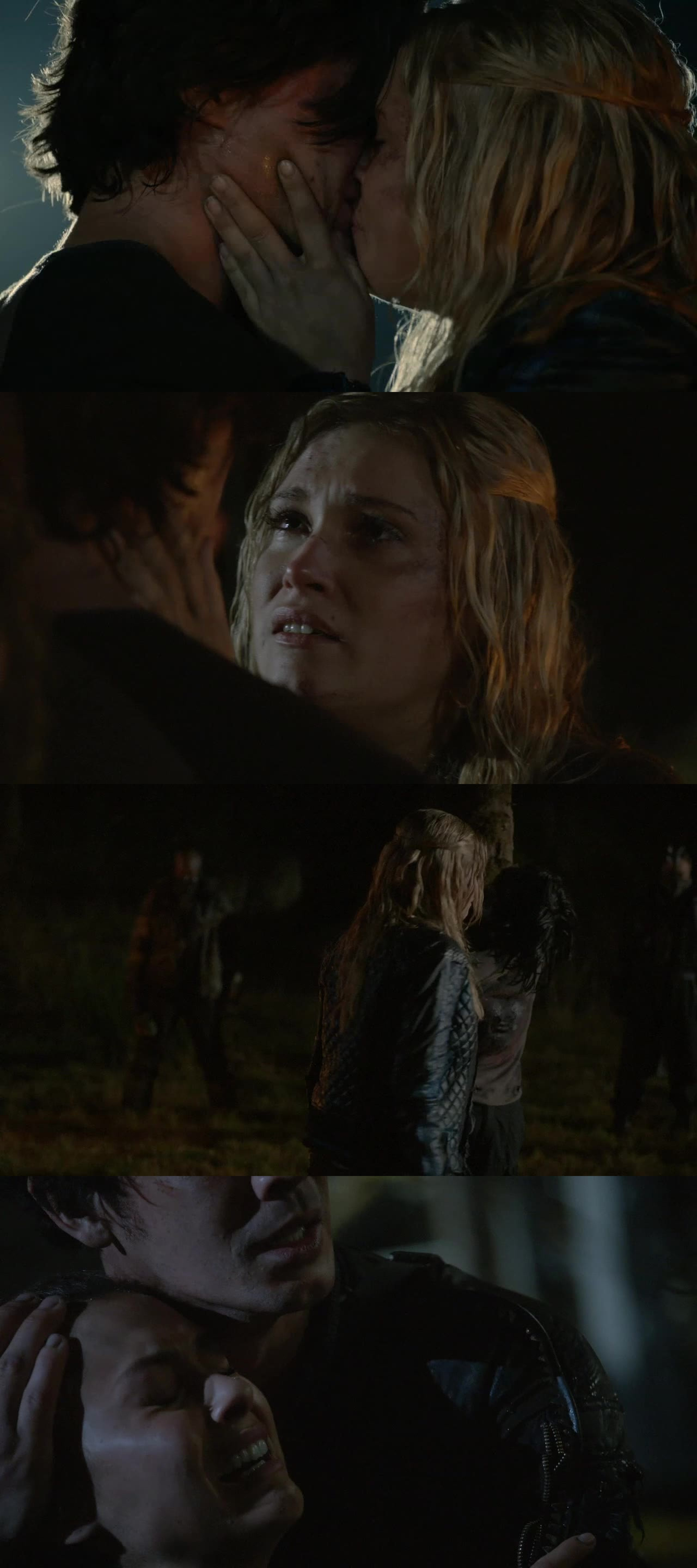 I kinda hated Finn because he was useless and annoyng  but I felt really bad when he died, I mean...Clarke, the kiss, the fact he was just 18, Raven! It has been heartbreaking but he had to die. Blood for blood and long may bellarke lives
