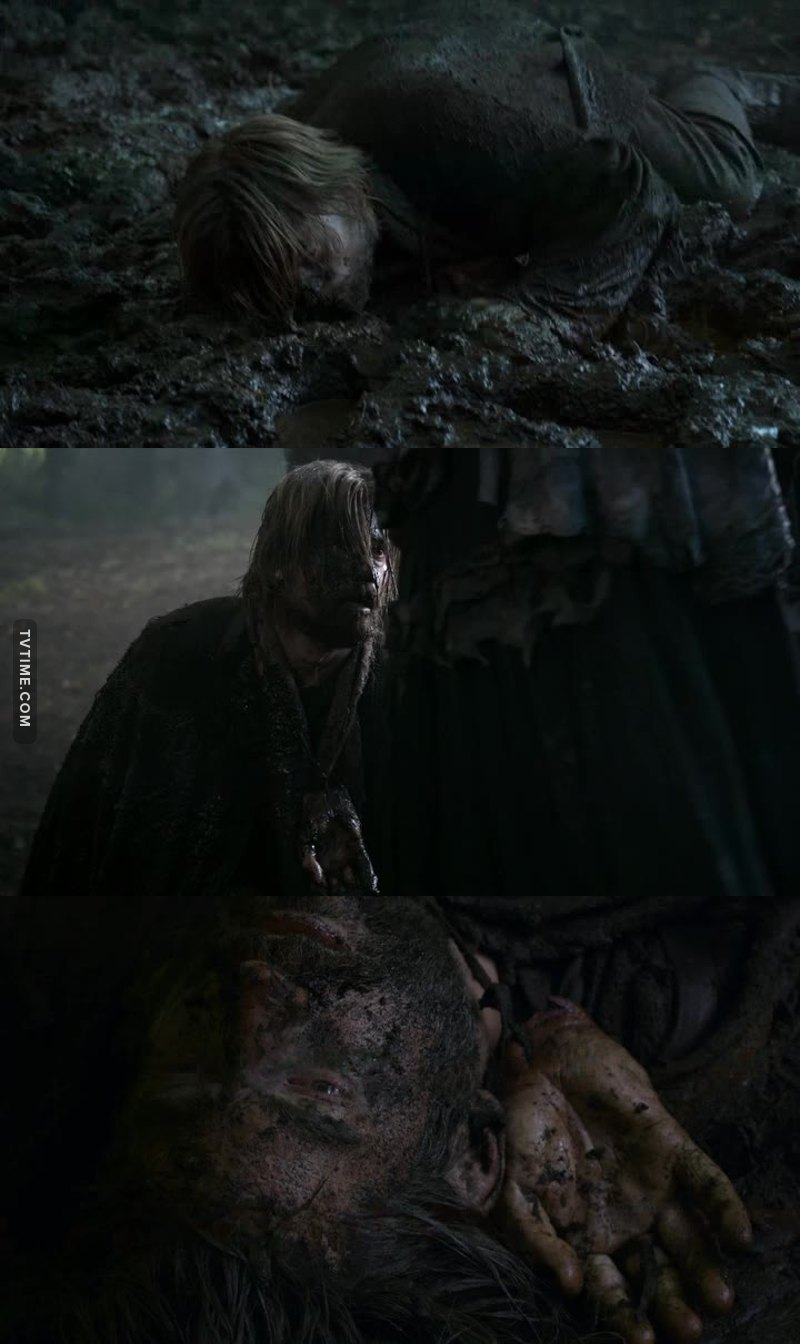 As much as I hate him, I felt sorry for him on this scene.