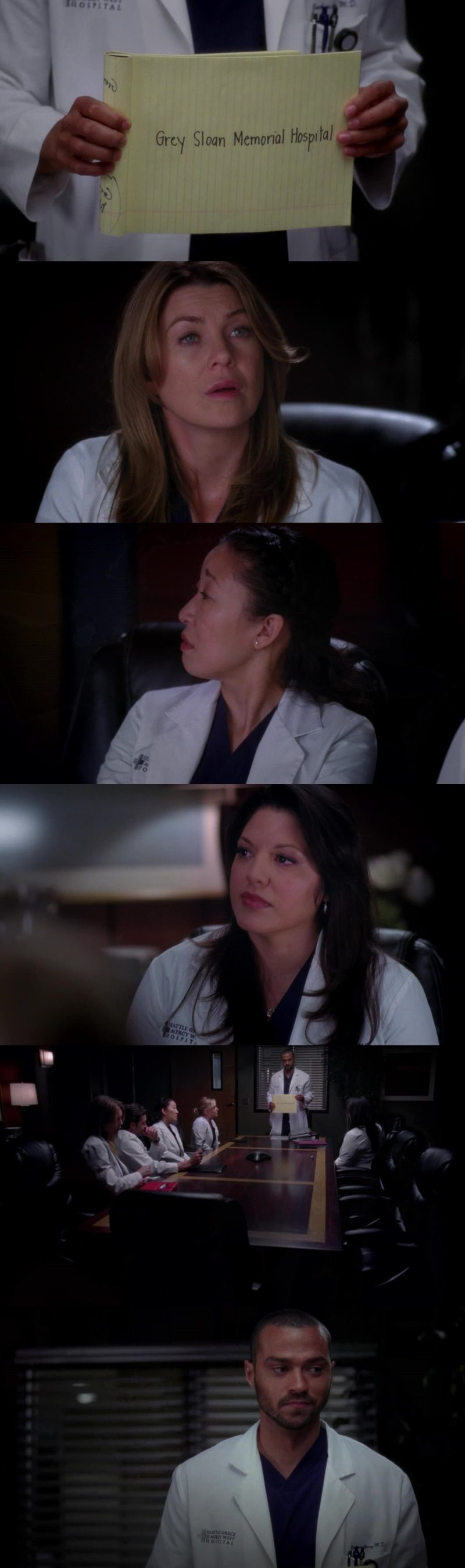 Shonda how are you the only human being that always manages to make me cry??? Wow wow wow it is so different without Lexie and Mark 😣