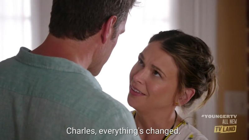 I swear to god this episode only lasted 5 minutes, it was so damn short.  This is so frustrating and so is the relationship between Charles and Liza, get together already !