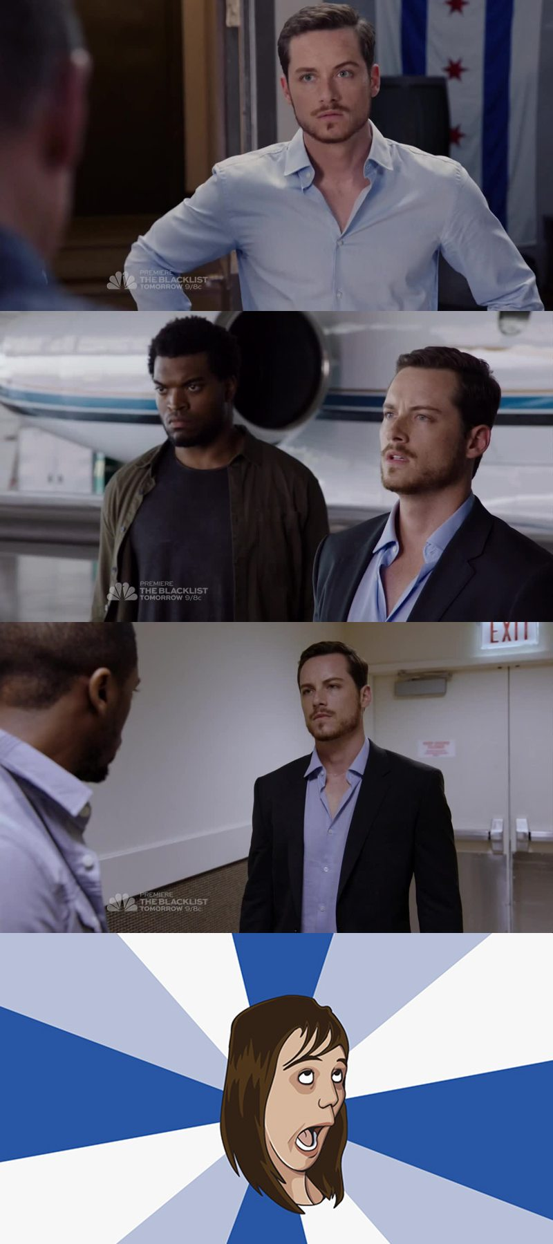 Amazing first episode 👏.. and let's all appreciate how hot Halstead is 😍