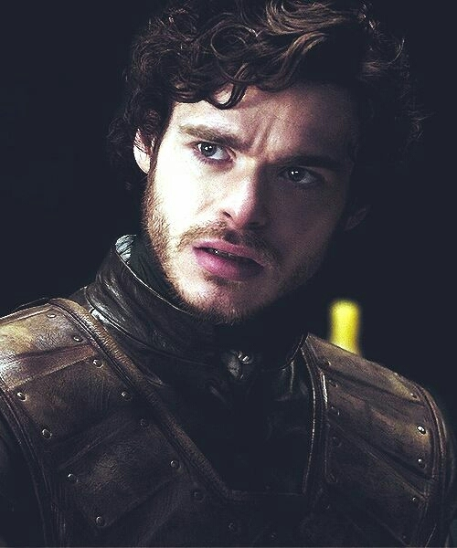 """They call him 'the young wolf'. They said he rides into battle on the back of a giant direwolf. They say he can turn into a wolf himself when he  wants.  THEY SAY HE CAN'T BE KILLED.""  Ladies and getleman, Robb Stark. King in the North.   NORTH REMEMBERS"