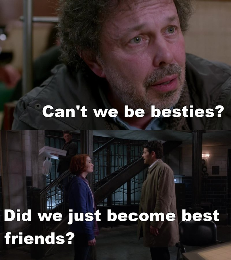 Everyone wants to be Castiel's best friend