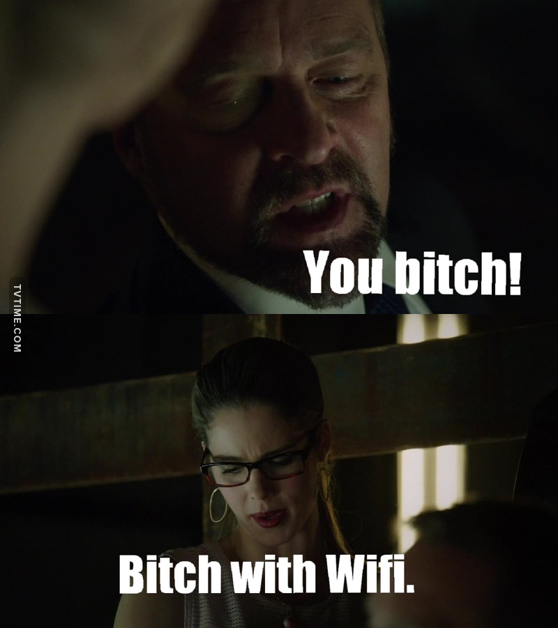 Felicity's the best 😂😂