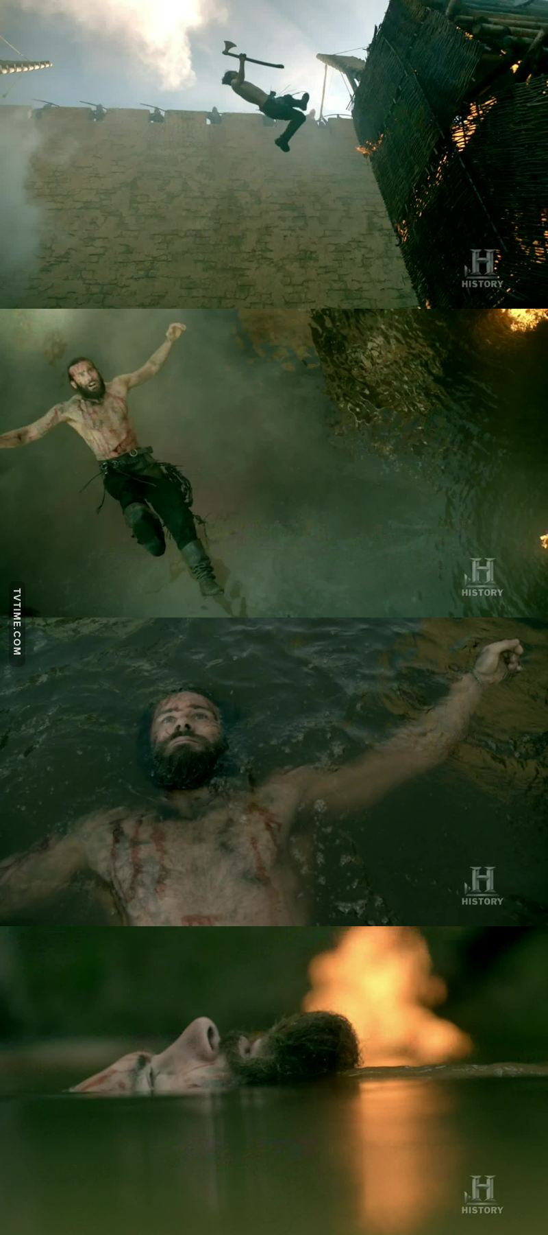 I thought he was dead💔 BUT HE SURVIVED!!! ROLLO IS A FUCKING BEAST!! LOVE HIM!🙌🏻🙌🏻
