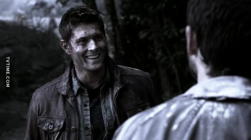 Look how much Dean was happy when he found Cass. I'm weak