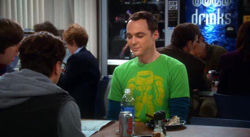 Ma come ride Sheldon!! Ahahahahah