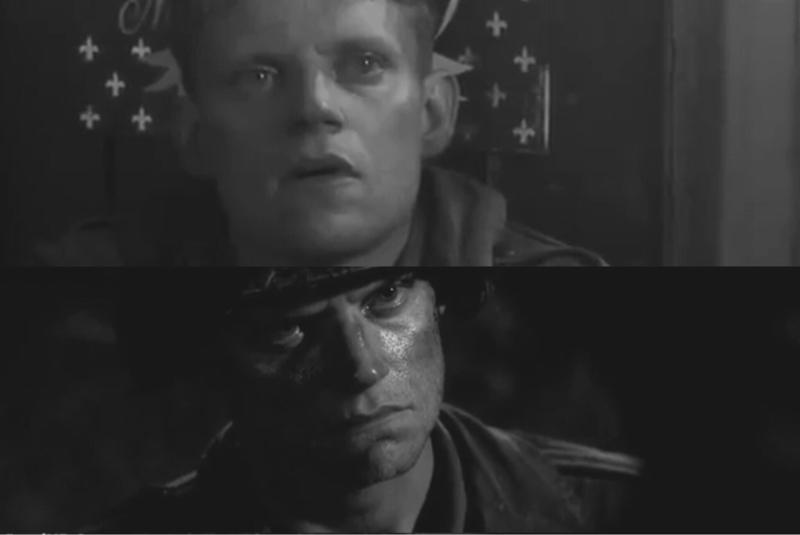 """لا تختلط جُل المشاعر بنقائِضها، إلا في خضمِ الحرب في ساحتها لن تجدَ شعورًا صافيًا دونَ أن تشوبهُ شائبه !  في هذهِ الحلقة : شاهدنا الذُعرَ في عينيّ بلايث و ما فعلهُ به حتى افقدهُ البصر، و إثرَ ذلك ابصرَ حقيقةَ الحرب ! إذ انهُ بقدرِ ما اخذَ منهُ الخوفُ منحهُ الشجاعةَ للقتال حتى سقطَ على أرضِ المعركةِ قتيلاً..  اجل.. بإمكانِ الخوف أن يضمنَ لك البقاءَ على قيدِ الحياة، لكنهُ يسلبُ منكَ بالمُقابل قيمتها، أما الشجاعة فقد تقتلُك، إلا أنها بهذا تمنحُكَ حياةً أبديه في سجلاتِ التاريخ، و لرُبما كما تآمل.. سلامًا !   يسخر هاري من الحرب بقوله """" إنها مُجرد لُعبة """"  او لعلّهُ بهذا يحاولُ زرعَ الطمأنينة في أرضٍ لا تُسقى إلا بالدماء ولا ينبتُ على سطحِها سوى الموت، فإن كانت الحربُ لعبة.. ألا يعني هذا بأنّنا لسنا إلا دُمى تُحركنا السُلطة كيفَ ما تشاء ؟   في هذا الصدد..  يُلخص المُلازم ويبستر حقيقةَ إنعدامِ الأمل بكسبِ السلام عن طريقِ الحرب بقوله """" الأملُ الوحيد.. هو أن تتقبل حقيقةَ انكَ مُت """"    أما الأعيُن ؟ فتنطقُ بما لا تقوى الكلمات على لفظِه :"""