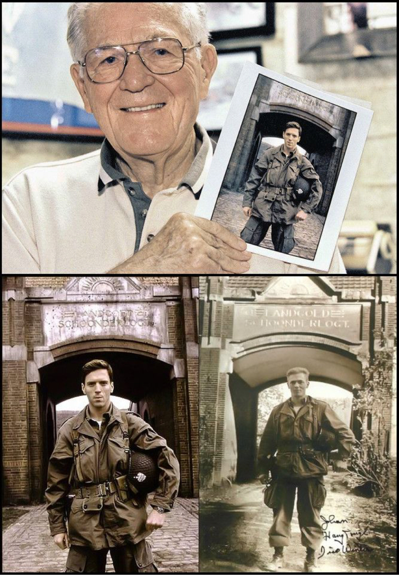 Grandson asked me Grandpa were you a hero in the war ? Grandpa side 'No' But I served in a company of heroes...  💙👌🏻