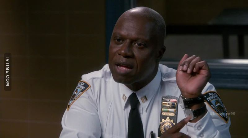 "When I was watching this episode I was thinking that the previous halloween episode was better, with all that Jake's smart plan, but when it turned that it was all along Holt's plan I was like ""wow, you got me"" I can't wait to watch next halloween bet"