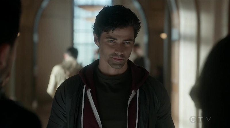 Serial killer face.