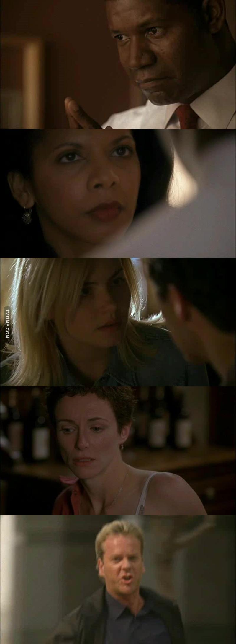 Palmer à bien serné sa femme qui le manipule depuis le début. Et Jack qui ne sais toujours pas se qui se passe pour Kim et Teri et sa c'est a cause de Mason qui filtre ses infos.