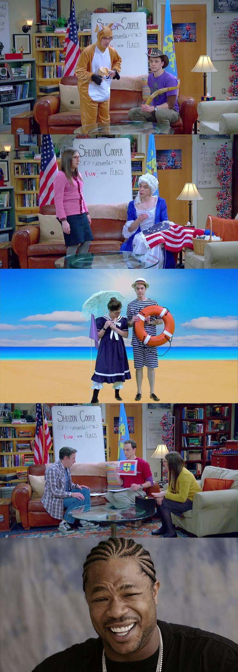 Diversão com bandeiras♥ kkkkk