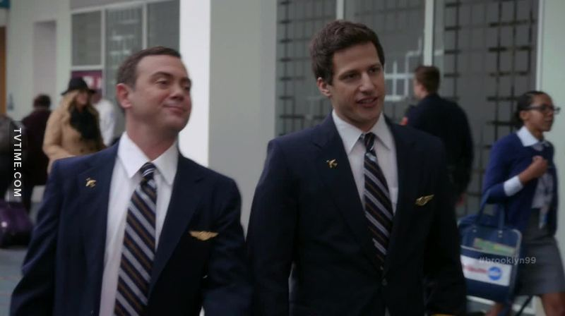 They look so good with their pilot uniforms ❤
