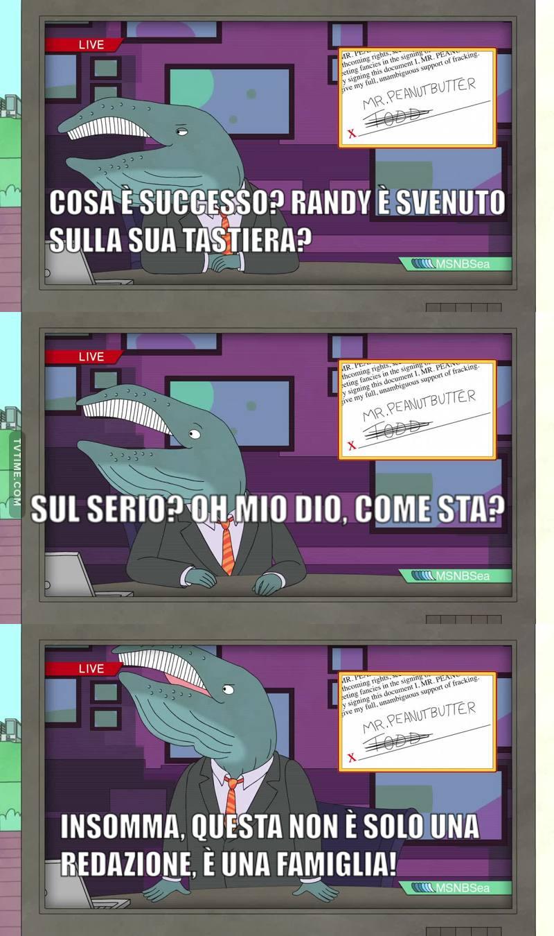 VOGLIO SAPERE COME STA RANDYYYYY