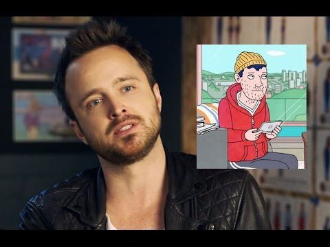 Aaron Paul and Todd 💙