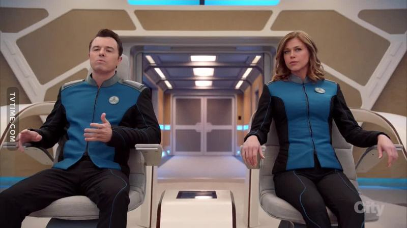 "First episode was interesting. I read on various sites, reports by so-called ""expert critics"" that this would be a comedy series. But the impression I had is that The Orville will try to be more than that. Certainly there are some jokes during the episode, but they are in very intelligent moments. I hope that the series can be firm and we can have a full season. Happy Arbor Day!"