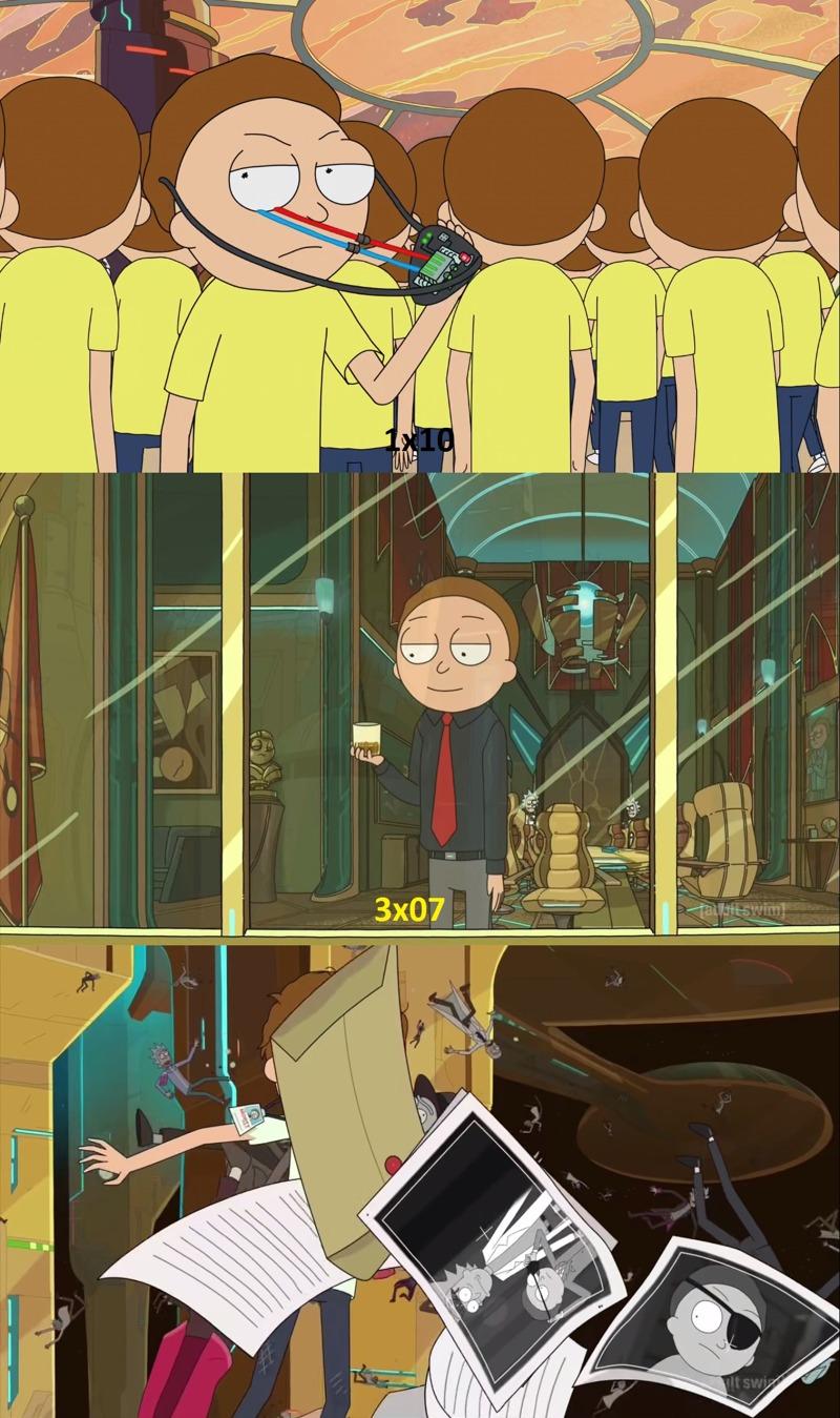 Evil Morty is back!!!!
