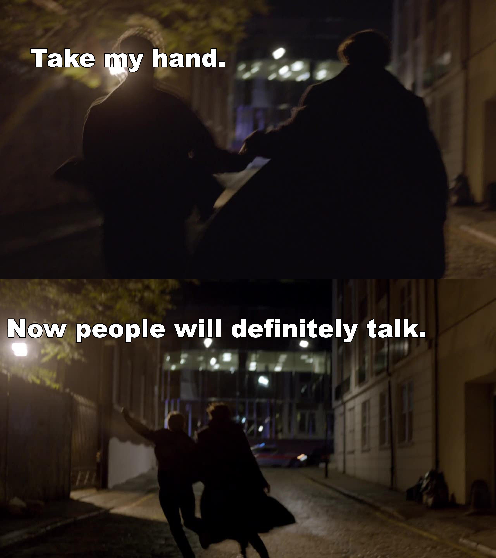ahahahahahahahaha #johnlock