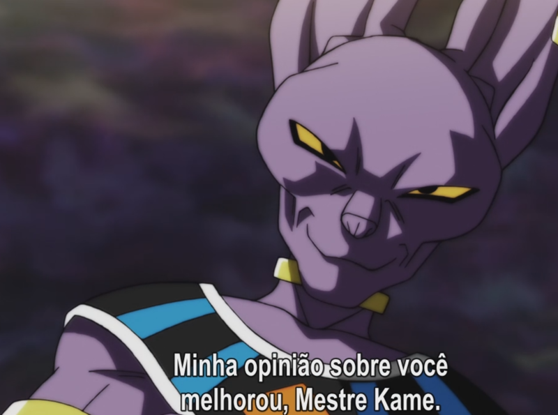 """Mestre Kame foi sensacional no torneio do poder, a falta de reconhecimento que ele teve no Z foi muito grande , ele só estava la pelo alivio cômico da obra. Já em Dragon Ball Super ele mereceu a alcunha de """"mestre"""" e até Deus concorda comigo XD"""