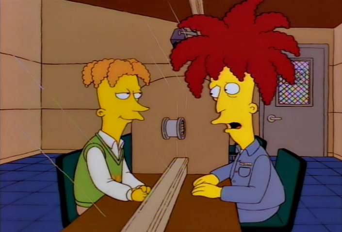 I actually liked Sideshow Bob in this episode!