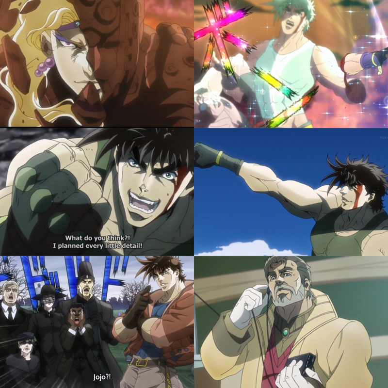 Joseph Joestar, one of his adventures just finished, And a new adventure begins 😍❤️❤️