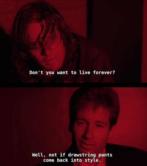 Mulder's humor ❤️