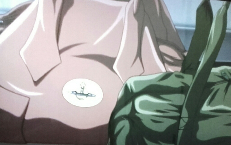 See? This mark like Shin's lighter is everywhere..!