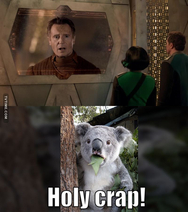 Liam Neeson?! I did not see that coming!