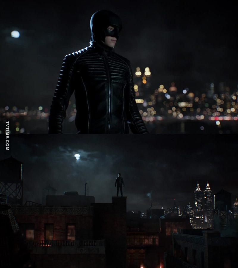 Batman freaking suit up