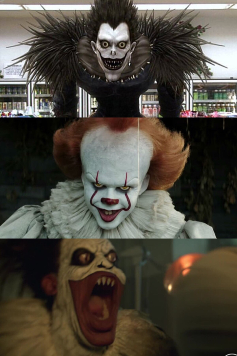 This is child of ryuk and pennywise
