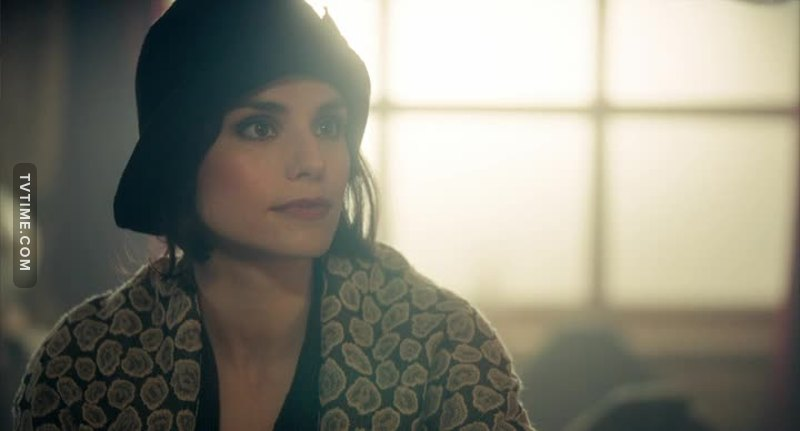 May Carleton (Charlotte Riley) is the wife of Tom Hardy in real life.
