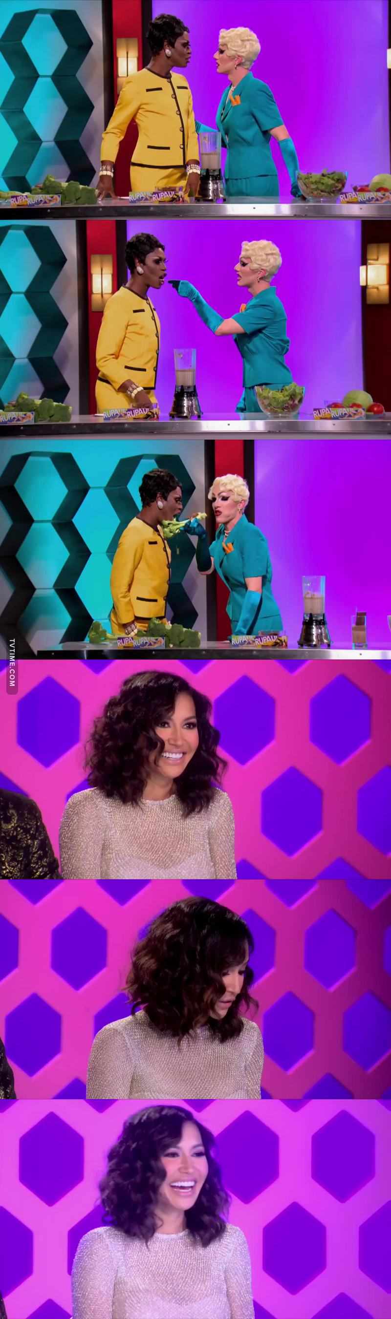 That lesbian sketch on Good Morning Bitches was SO FUCKING HILARIOUS I WAS DYING. And Naya Riveraaaa 😍😍😍 yass god And trinity's lipsynch was lit af 🔥🔥🔥