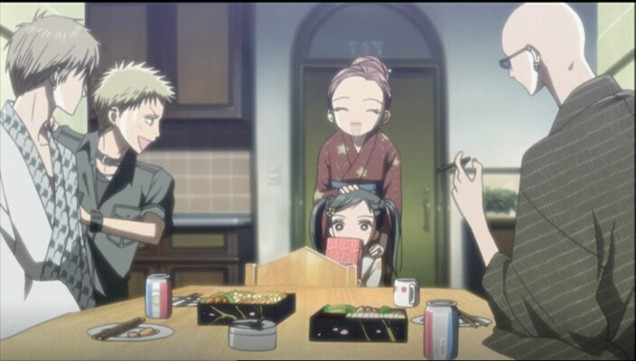 In spite of the ending, it was quite good to see them all together (except Nana and Ren 😭💔..), and see them some years later. Btw even though the manga isn't ended and will never be so, they could have made an alternative ending, as they usually do.. It was great anyway, so much feels with this anime 😢!!! Thanks BlackStones, Thanks Nana's 😘!!