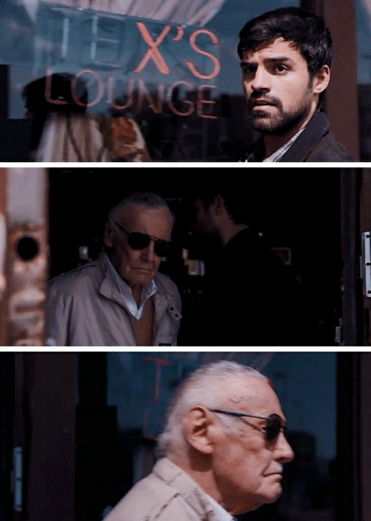 Stan Lee always popping up somewhere huh? 😂
