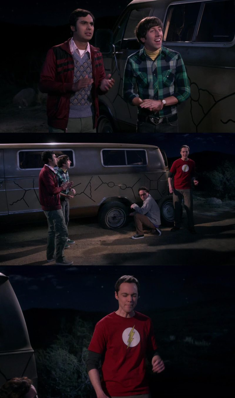 seeing Sheldon singing we will rock you is the best thing that happend in my entire life! lol