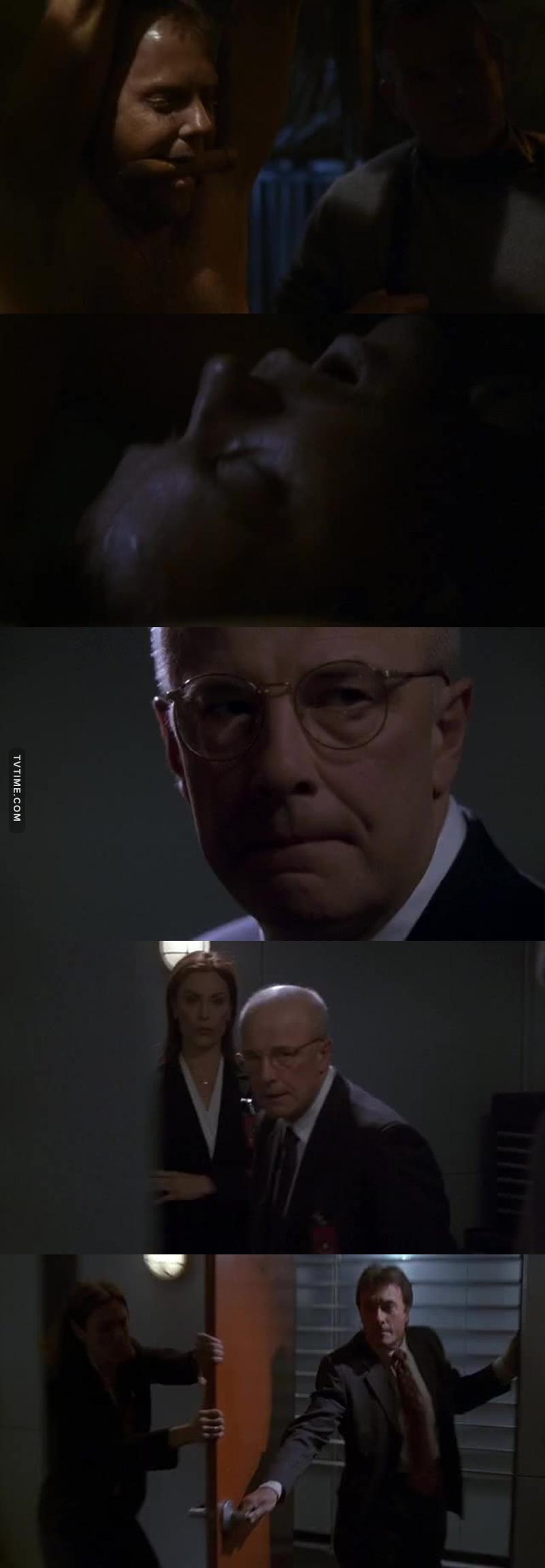 Jack est dans un salle état il va avoir du mal à s'en remettre. Et Mike est déçevant il à trhaie le présiden il devra en répondre en tant voulu.