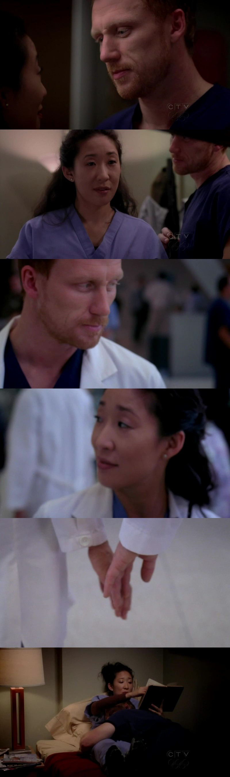 """You should wear your hair up more. Shows off the back of your neck. I like the back of your neck."" Crowen. 💖"
