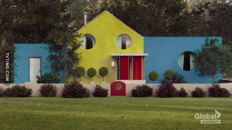 The fake Eleonor house reminds me of Google.