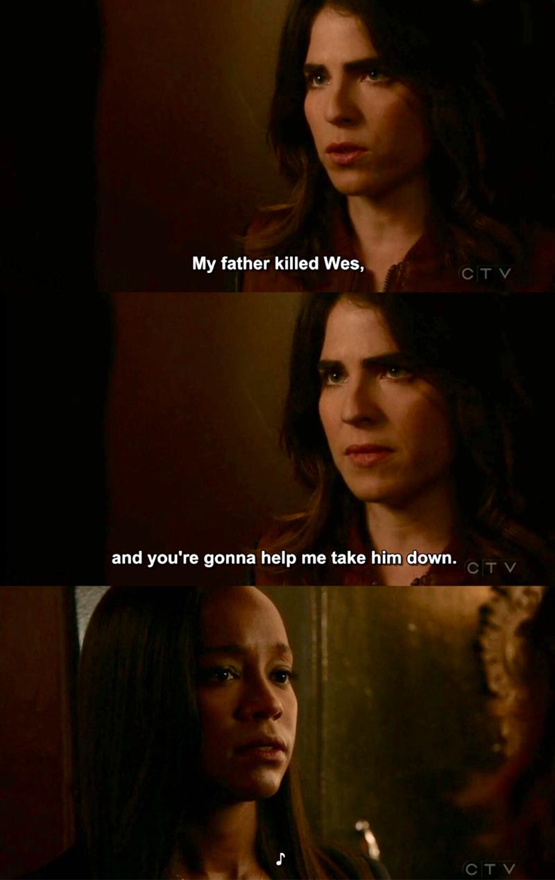 Can't wait for Laurel's revenge.