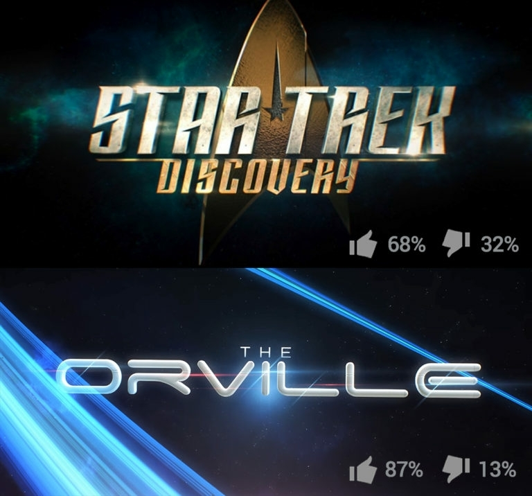 The Orville is a Star Trek parody... but it's not trying to be Star Trek. So it's funny that it's a better Star Trek-show that Star Trek Discovery, that's trying to be Star Trek, but is just a generic Sci Fi-show.  Don't get me wrong, both shows are good sci fi-shows, for different reasons. I just think it's funny that out of the two, it's not the one who bares the name that us the better Star Trek.