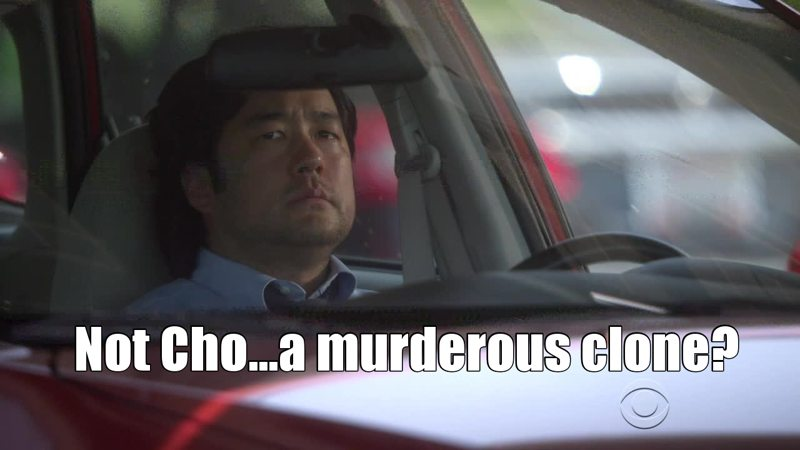 My first reaction---Hi Kimball Cho...what a murder....Noooo