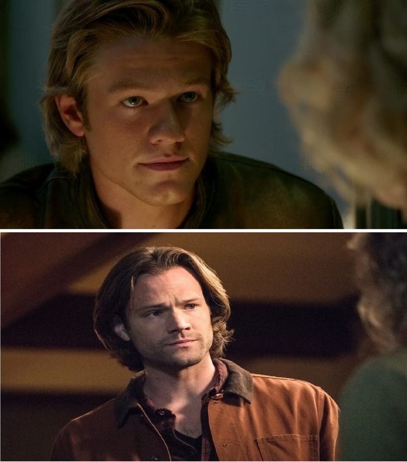 Is it just me or it seems Sam Winchester and MacGyver look the same
