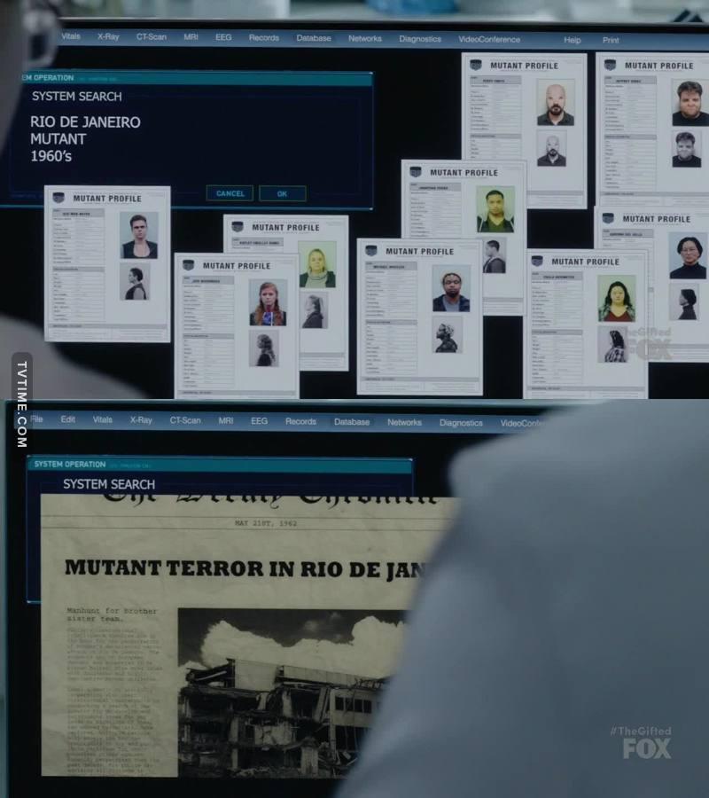 Fiquei pensando, se no Brasil a polícia não consegue conter crimes com humanos normais, imagine com mutantes 🤔