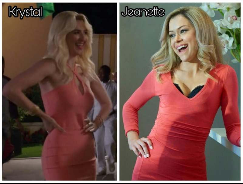 Is it just me or, does Jeanette look exactly like Krystal?