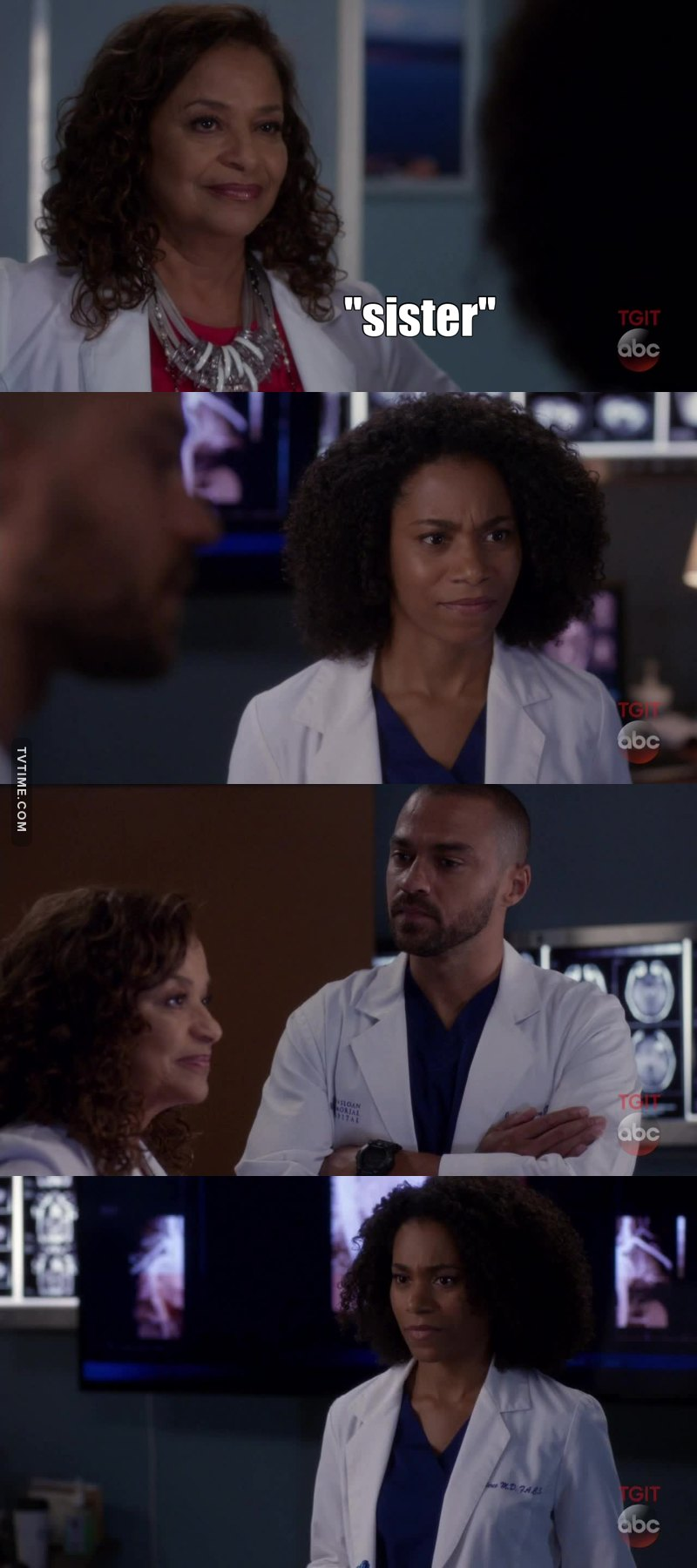 "When Catherine called Maggie Jackson's ""sister"" I literally laughed out loud! YASSSSSS! #JAPRIL"