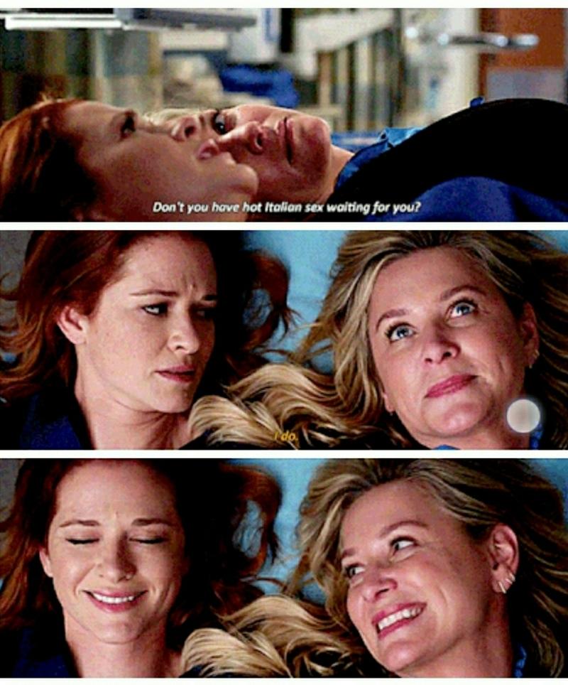 Arizona and April's friendship ❤