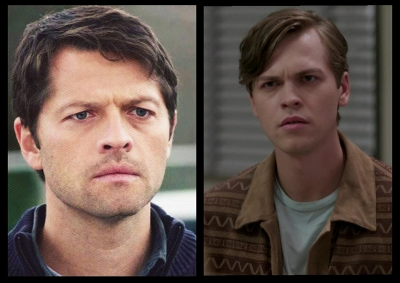 Is it just me or does jack looks like a young version of cas