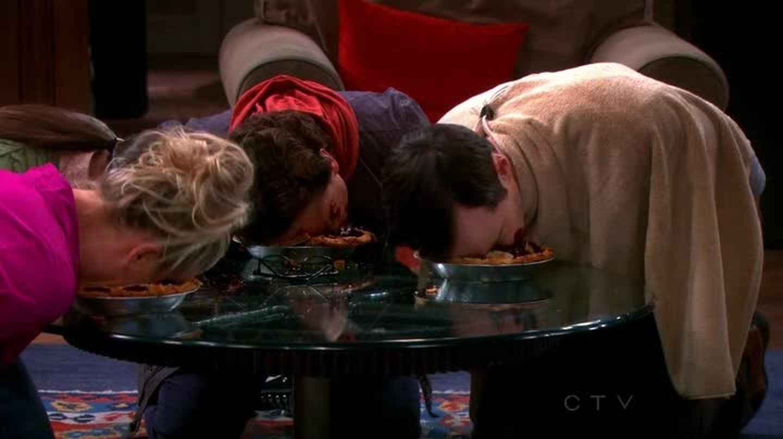 S - Mirtillo nel naso! Mirtillo nel naso! L - Sniffalo e continua a mangiare. Episodio epico.